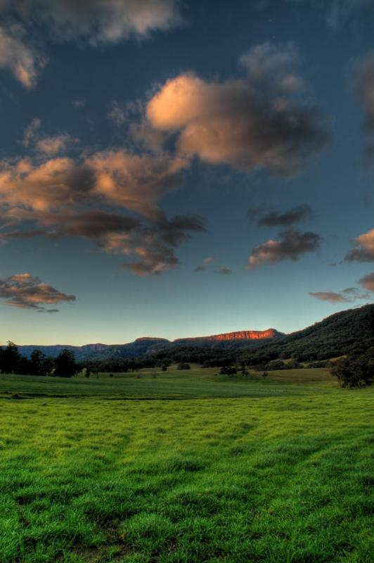 Kangaroo Valley farmland 2